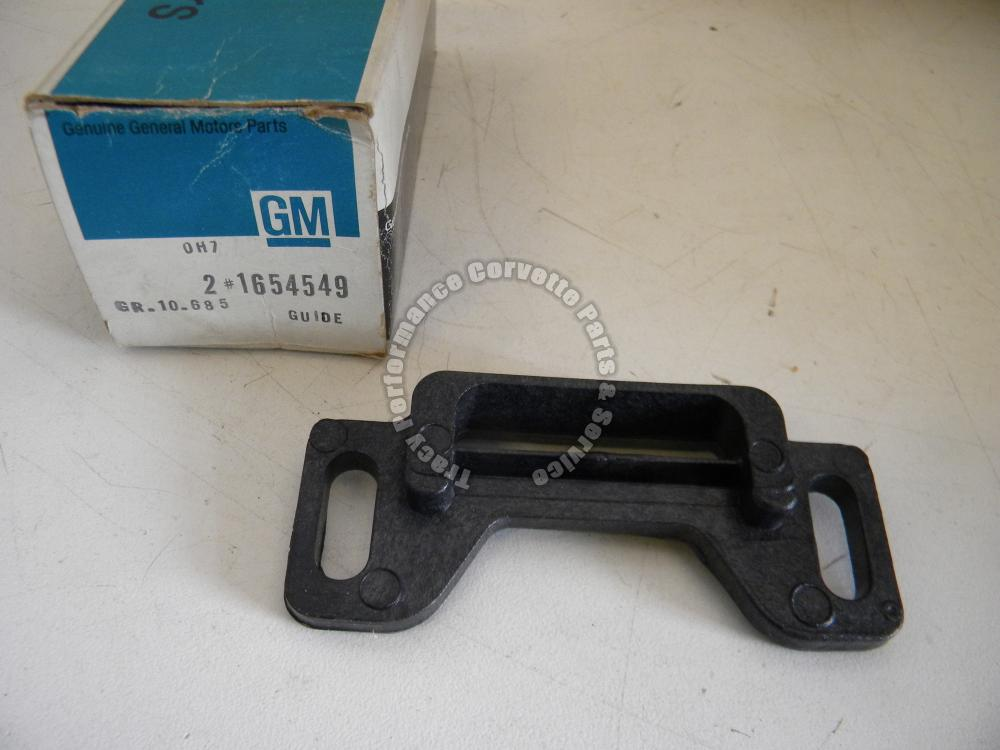 1973-75 Chevy/Buick/Olds NOS 1654549 Front Door Window Guide Stabilizer 73 74 75