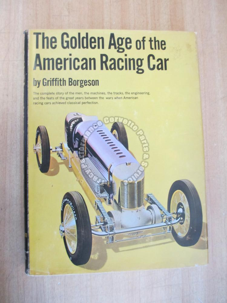 The Golden Age of the American Racing Car Griffith Borgeson 1966 Duesenberg