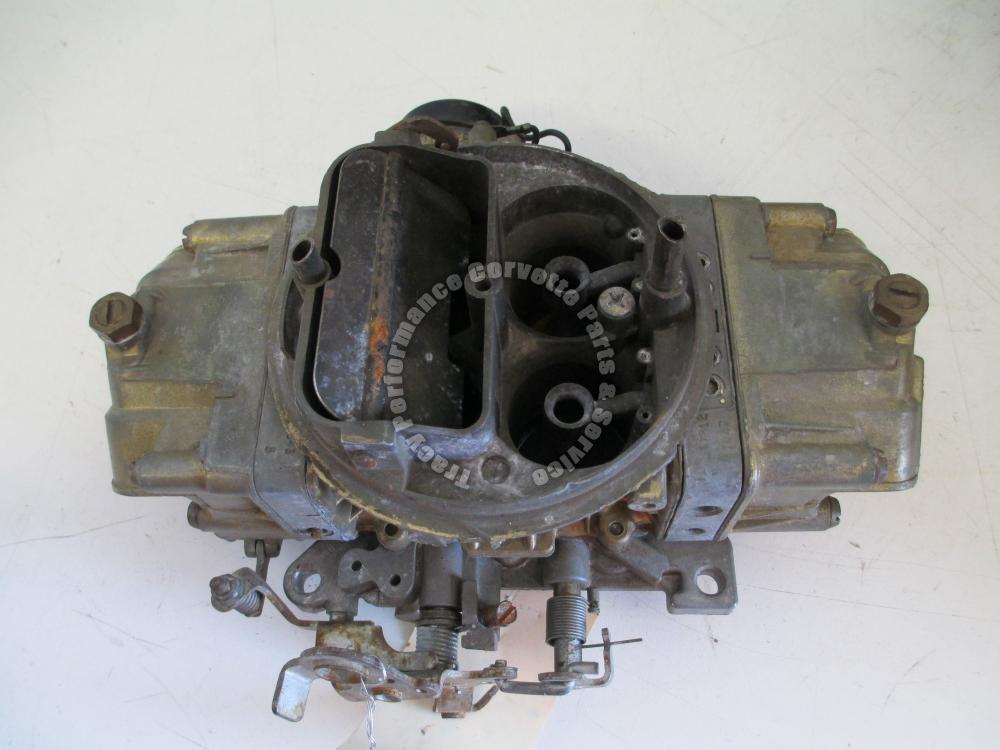 Holley 850 CFM Carburetor List 4781-2 dated 3382 4 BBL Needs Rebuilt, Elec Choke