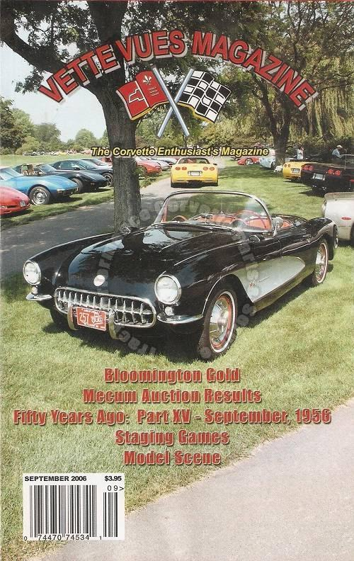 September 2006 Vette Vues Tire Rack Cannonball One Lap of America Staging Games