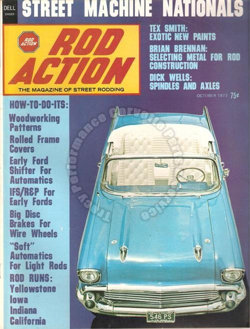 October 1973 Rod Action Street Machine Nationals California Six Seven by Olds