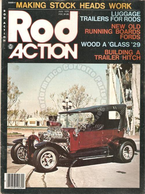 June 1976 Rod Action Forty Dollar Phaeton Stock Heads A Paneled Panel Delivery