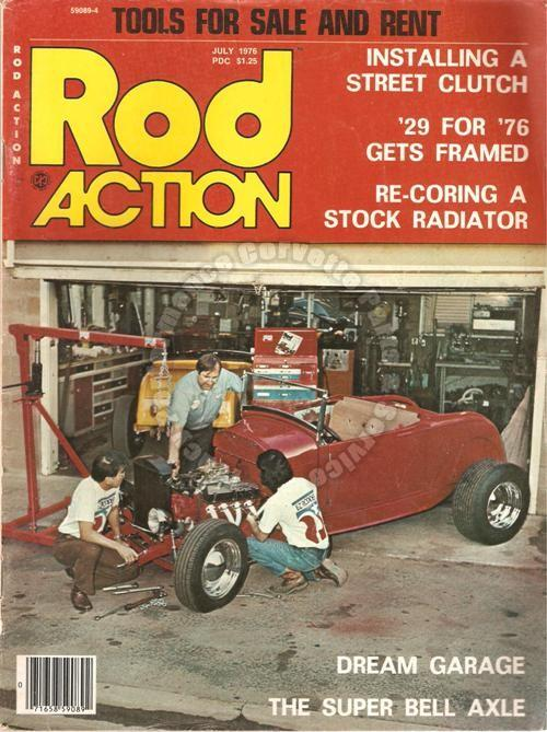 July 1976 Rod Action Dream Garage Rep's Road Runner A Car for all Seasons