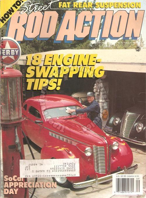 September 1989 Rod Action NSRA Appreciation Day 34 Plymouth PE Cpe Little Jewel