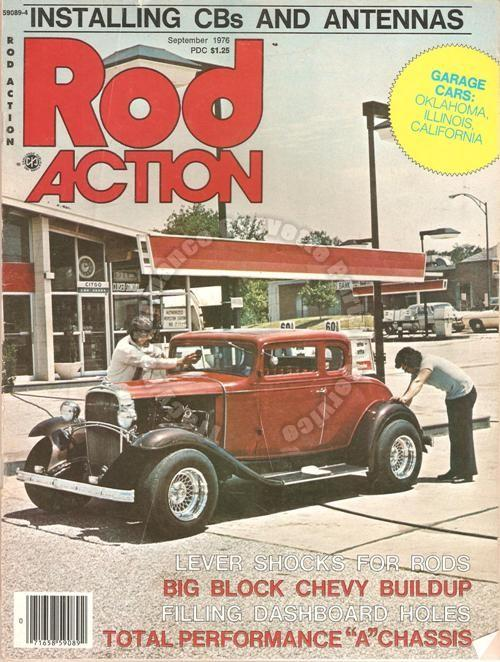 September 1976 Rod Action Ritzul Rig Red Rider Act Three New Model A Chassis