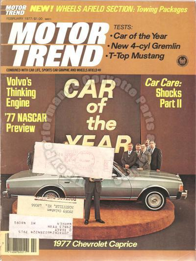 February 1977 Motor Trend 1932 Austro Daimler ADR 8 Peter Helck 40 Cyl Gremlin