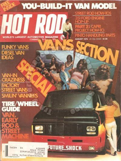 August 1976 Hot Rod Williamsburg Rod Run Racing Pinto Jack Roush on Ford's 351C
