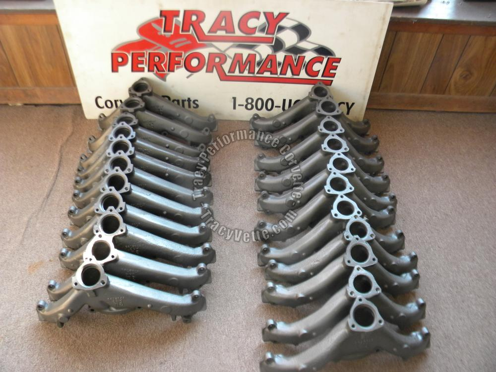 "1958-1961 Chevy Used 348/409 793/794 2"" Exhaust Manifolds/Pr, 58 1959 1960 60 61"