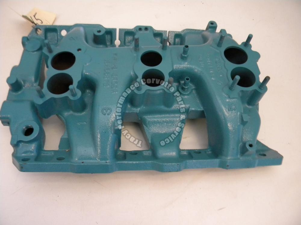 1965 Pontiac 9778818 E 18 5 TriPower Intake Manifold GTO Cleaned Checked Magged