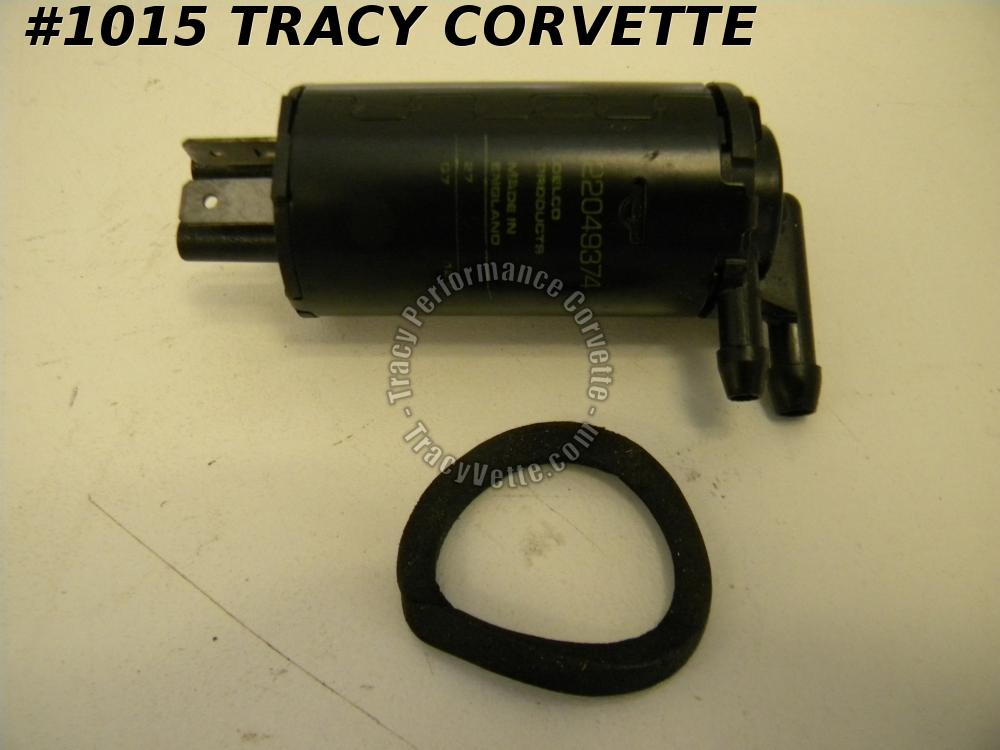 1984 1985 1986 1987 Camaro NOS 22049373 22049374 Windshield Washer Pump Firebird