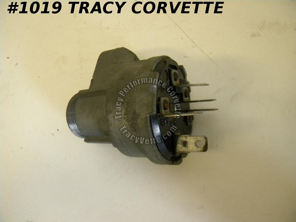 1961-1963 Chevy NOS 1116610 Delco D-1434 Ignition Switch Assembly 1962 Chevrolet