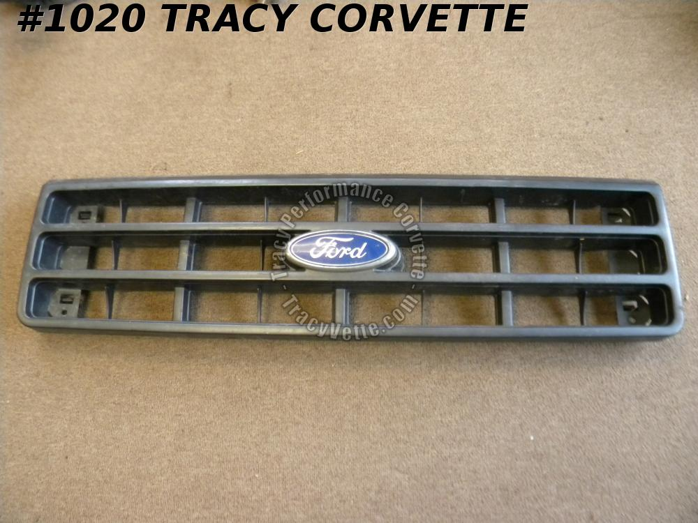 1987 Ford Bronco Good Used E7TB-8150-AC Front Grill Grille w/Emblem Ford Truck