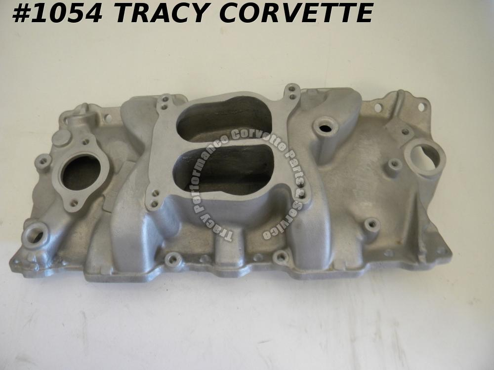 1955-86 Chevy New SBC ProMotive 41501 Twister Series Satin Alum Intake Manifold