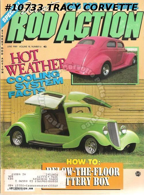 June 1989 Rod Action 1934 Packard Limousine 50 Ford A Perfect '40 - Randy White