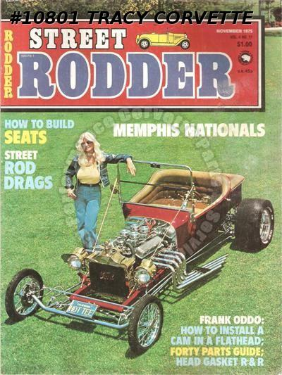 November 1975 Street Rodder Memphis Nationals Street Drag Forty from the Fifties