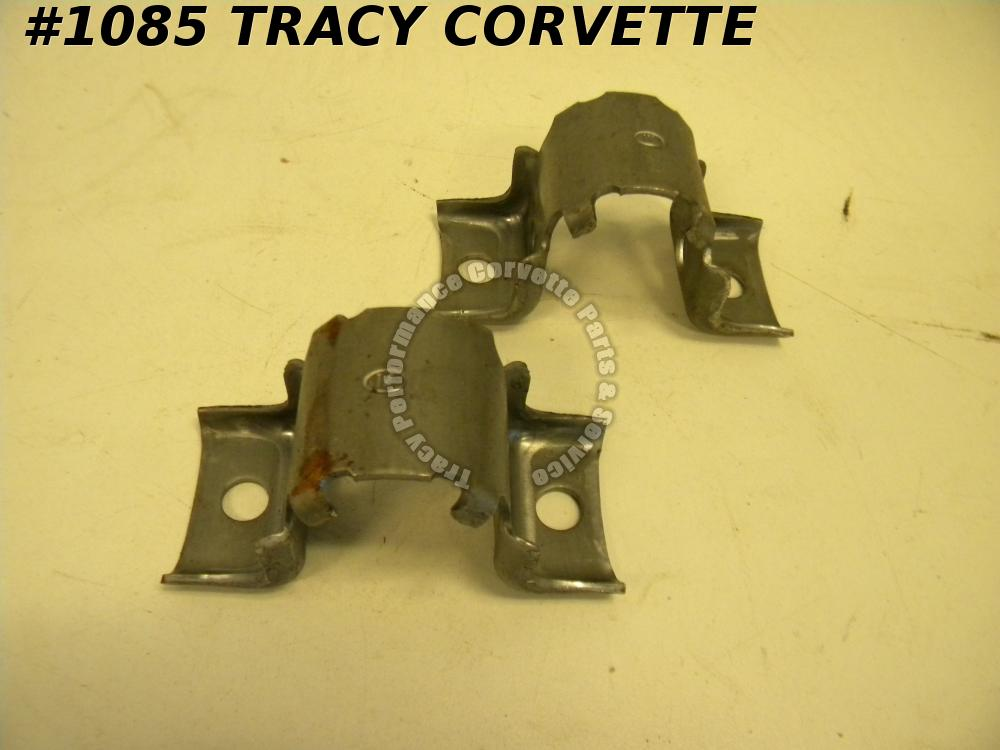 1984-1986 Camaro NOS 406887 Front Stabilizer Sway Bar Shaft Insulator Clamp/Pair