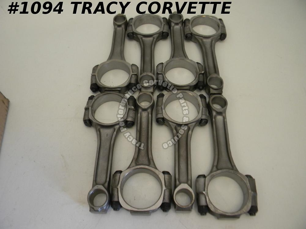 "1958-1961 Chevy 348 W Engine Reconditioned 3/8"" Connecting Rods/8 58 1959 60 61"