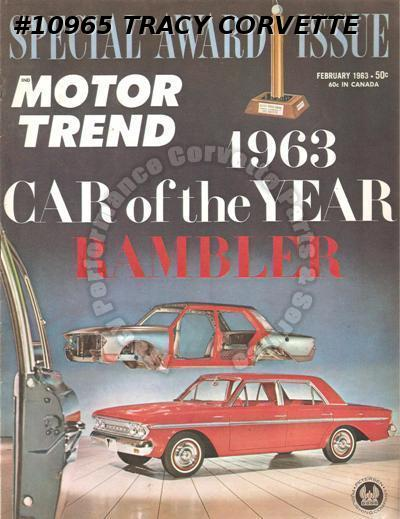 February 1963 Motor Trend 1963 Rambler Special Reprint 28 Pages