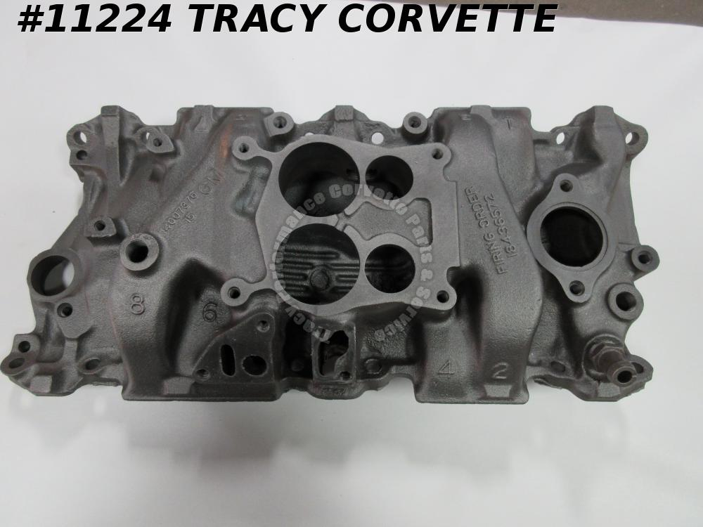 1977-80 Chevrolet 14007376 SBC Q-Jet Iron Intake Date Choice 77 78 79 80