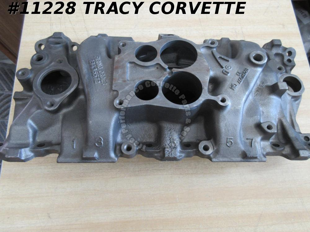 1980-85 Chevrolet 14057057 Q-Jet Iron Intake Date Choice SBC 80 81 82 83 84 85