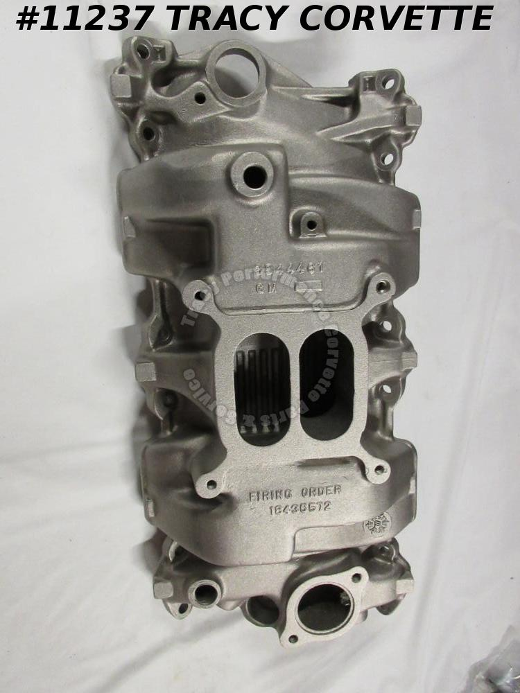 1964-1965 Corvette Holley High Rise Intake Manifold 3844461 Chevrolet Chevelle