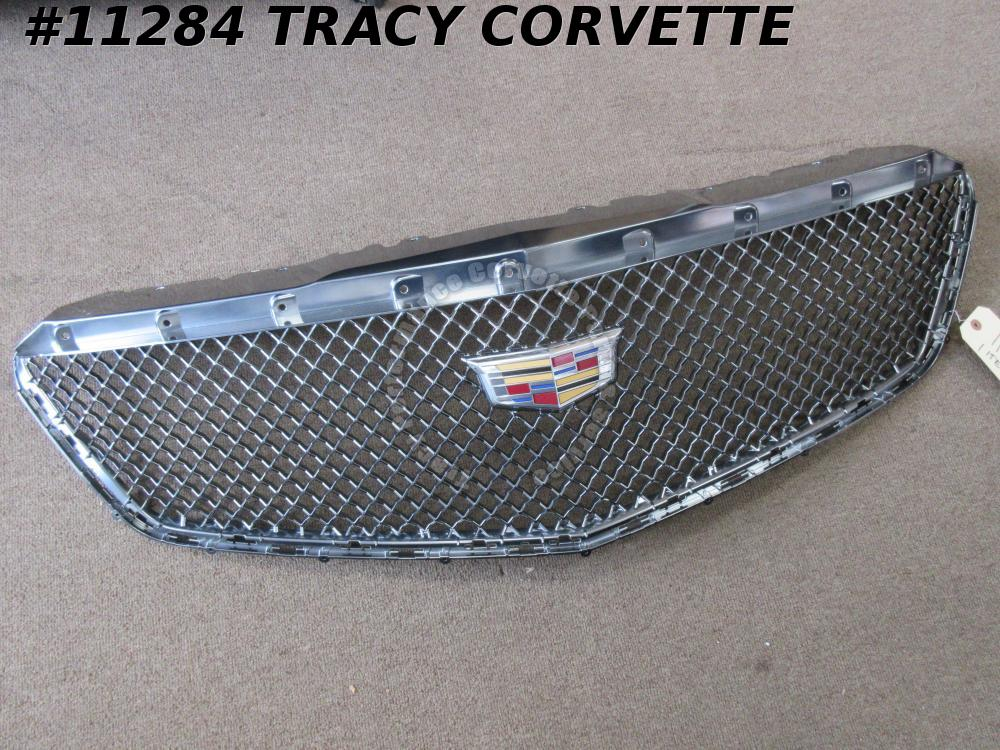 2017-2018 Cadillac XT5 84124490 New Take Out Front Grill with Bright Surround