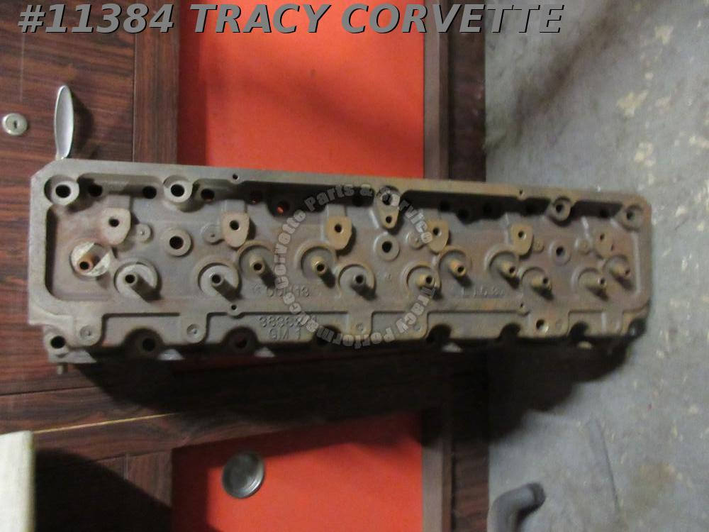 "1954-1955 Chevy Corvette 3836241 NOS Very Rare Bare 235"" 6 Cylinder Head L 15 3"