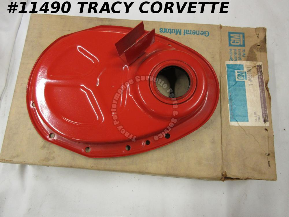 1965-1967 Camaro NOS 3928971 Timing Chain Cover Double Timing Mark Bracket