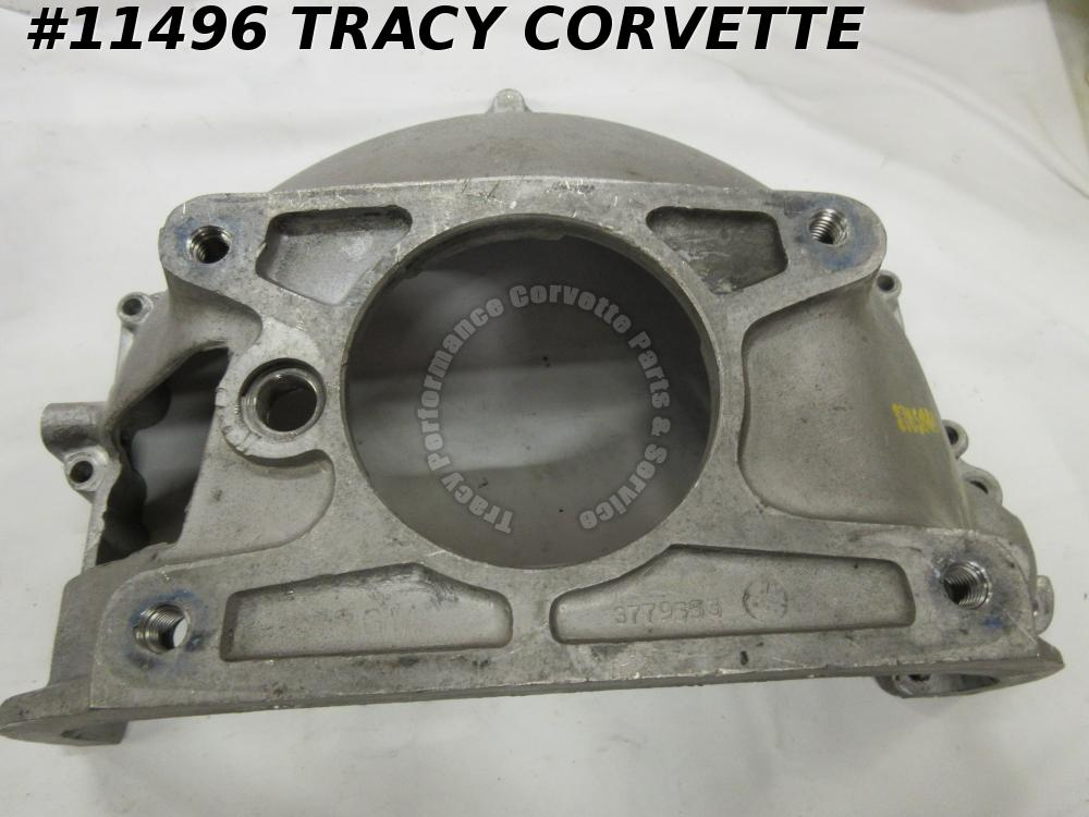 1960-1962 Corvette 61-63 Chevy 409 3779553 Alum Bell Housing w/3765641 Ink Stamp