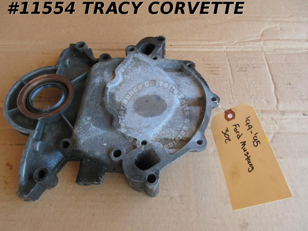 1994-1995 Ford 302 Used HO High Output Timing Cover, 94-95
