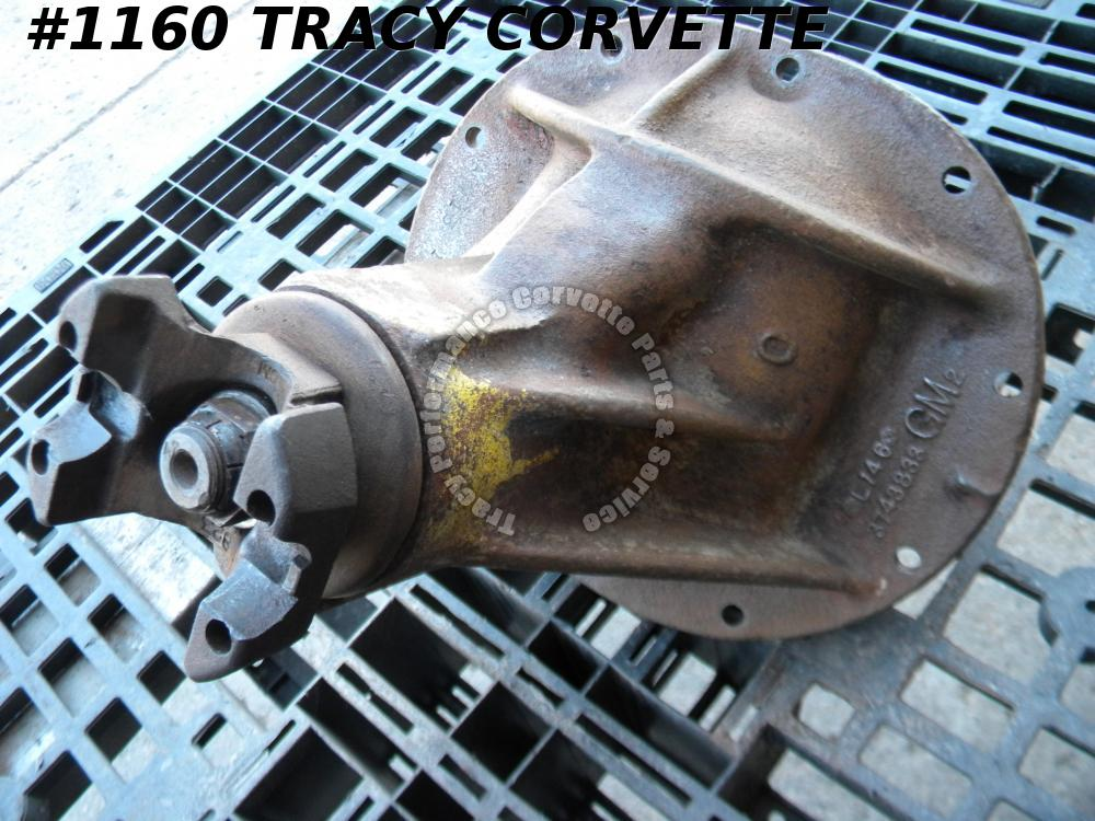 1957 Chevy/Corvette 3743833 Used VERY EARLY 3.36 Posi Differential Axle L 14 6