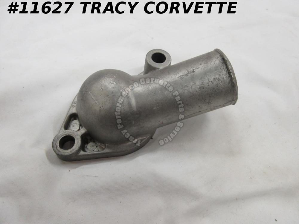 1966-1973 Corvette Used 3877660 Thermostat Gooseneck Water Outlet PN on Base