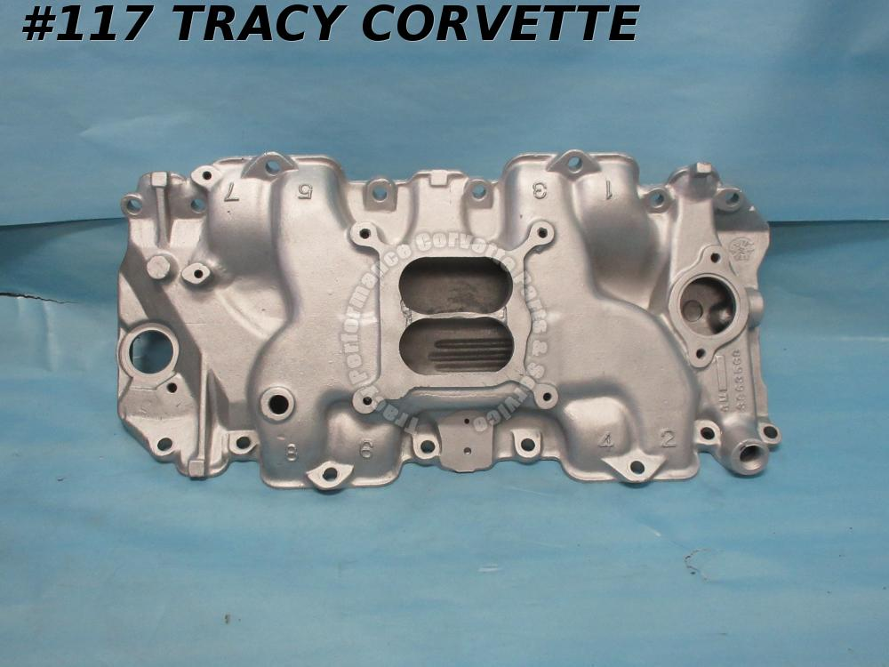 1970-1971 Corvette Intake Manifold 3963569 Aluminium LowRise LargePort Big Block
