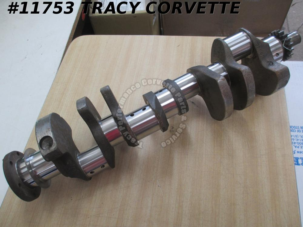 1958-1961 Chevy 348 3732692 Forged Small Journal Crankshaft Regrind .010R/.030M