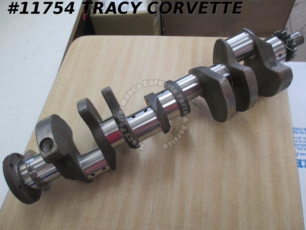 1958-1961 Chevy 348 3732692 Forged Small Journal Crankshaft Regrind .030R/.020M