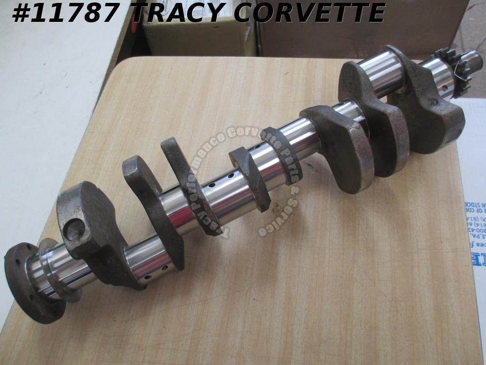 1958-1965 Chevy 348 3824553 Forged Small Journal Crankshaft Regrind .010R/.020M