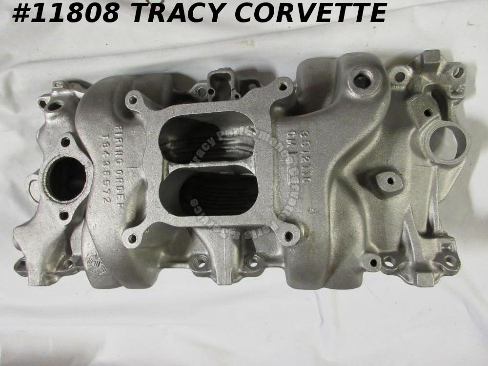 1970 Corvette Camaro Used 3972110 SBC Aluminum Intake Manifold Dated 10/23/69 70