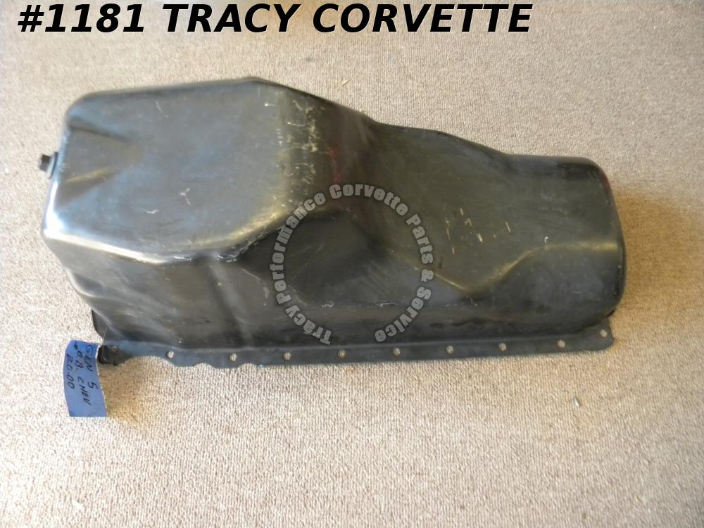 1991-2000 Chevy GMC Truck New 10240721 BBC Big Block 6 Quart Steel Oil Pan 91-00
