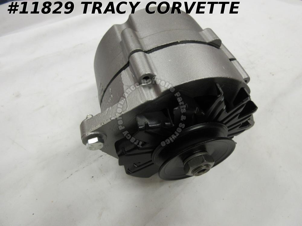 1968-1971 Chevy/Corvette Original Rebuilt 1100834 37 Amp Alternator, Date Choice