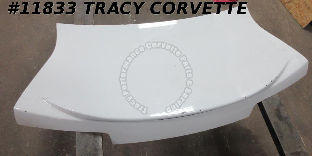 2010-2013 Chevrolet Camaro Trunk Decklid with Center Stop Lamp White
