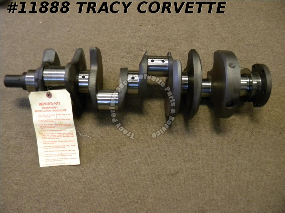1962-67 Chevy 327 3782680 Forged Small Journal Crankshaft Fresh Grind.020R/.030M