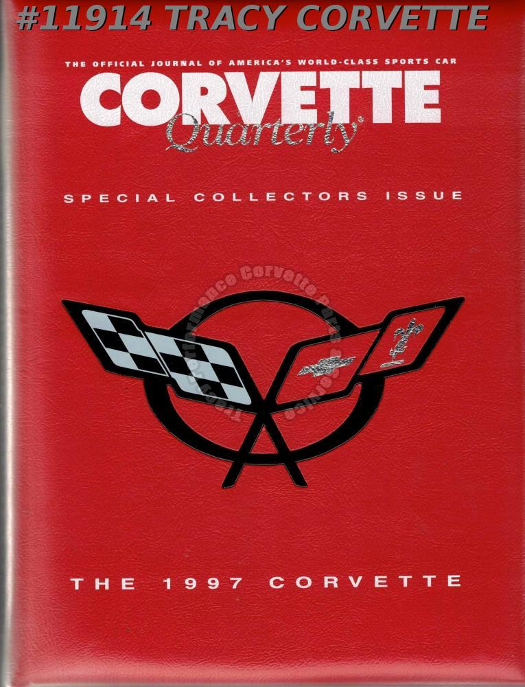 1997 Corvette Quarterly Special Collectors Issue 1997 Hard Cover Edition