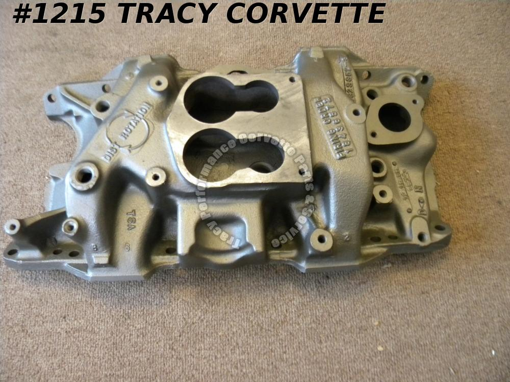 1985-92 Chrysler 4323352 Mopar 318 CI Spread Bore Manifold Dated 12-15-86