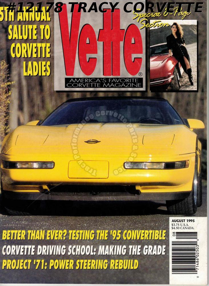 6cf335ed August 1995 VETTE 5th Annual Salute Corvette Ladies 1995 Convertible 1965  Ragtop
