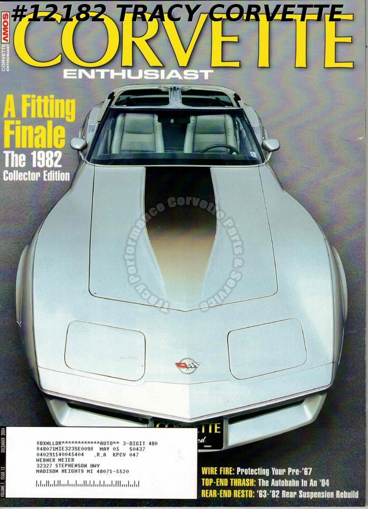 Magazines | Tracy Performance Corvette Sales, Parts and Service on