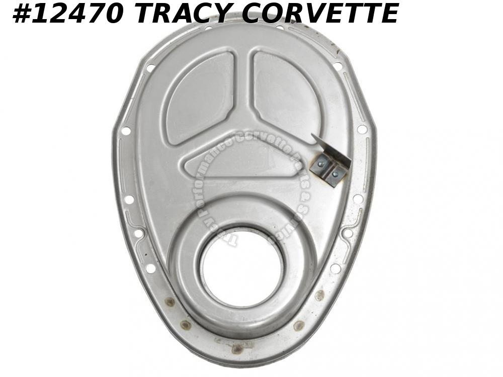 "1962-1965 Corvette Timing Chain Cover SBC 8"" 327 w/ SHP Special Hi Perf 3923290"