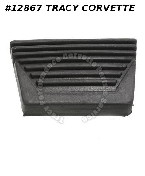 63-67 Clutch Or Brake Pedal Pad - Manual not correct Paragon Part