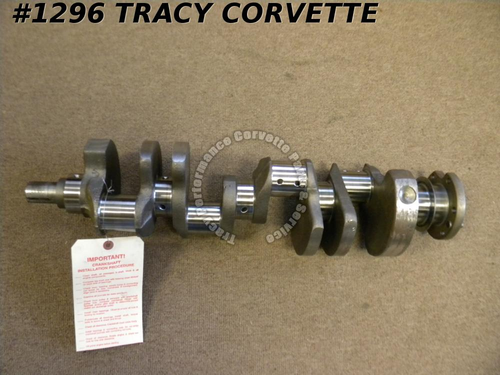 1967 Chevy 302 Z28 3876764 Forged Small Journal Crankshaft Fresh Grind.010/.010