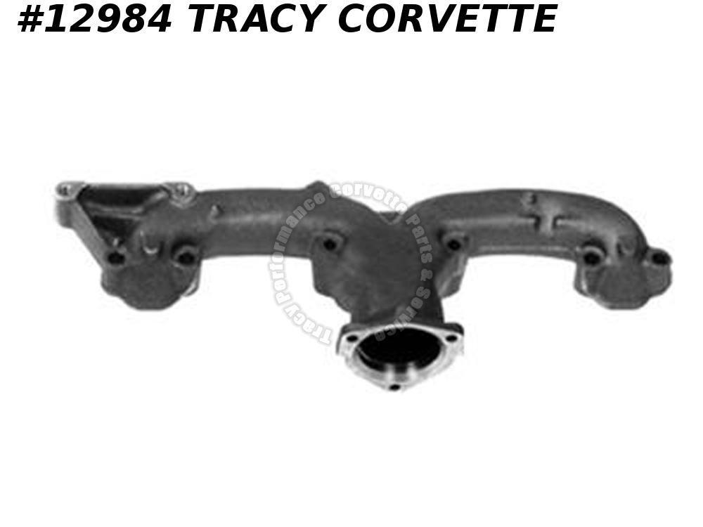 "1962-1965 Corvette Exhaust Manifold Left 327 2 1/2"" Cost Effective Replacement"
