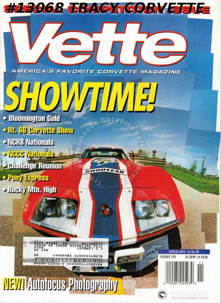November 1998 VETTE Special competition Issue NCRS Nationals NCCC Nationals